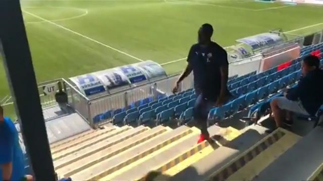 VIRAL: Football: Bolt trains with Norwegian side Stromsgodset Thumbnail