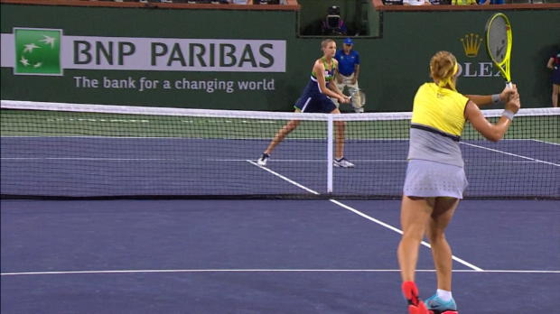 Indian Wells: Kuznetsova mit Tie-Break-Double