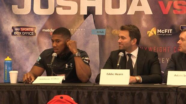 """Boxen: Joshua vor Klitschko: Das Ziel? """"Sieg!"""""""