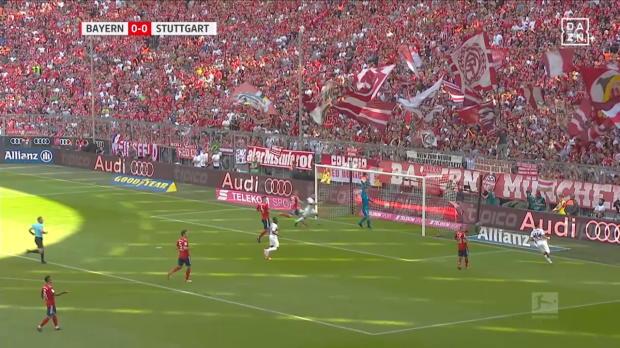 Stuttgart schießt Bayern ab
