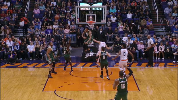 Block of the Night - Giannis Antetokounmpo