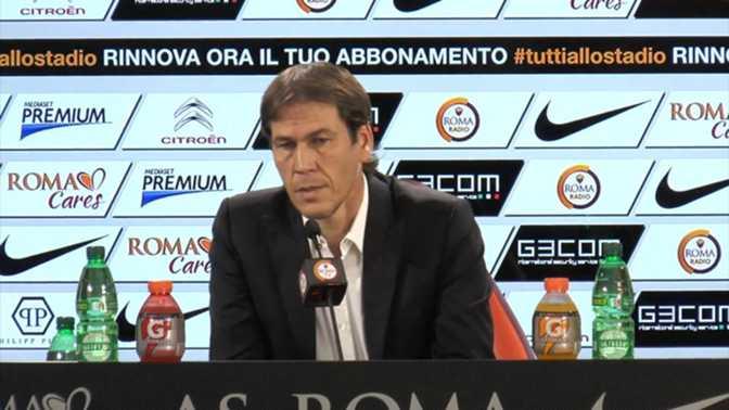 "AS Roma - Garcia : ""Milan va être un test"""