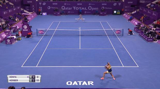Basket : Doha - Kerber rejoint Wozniacki