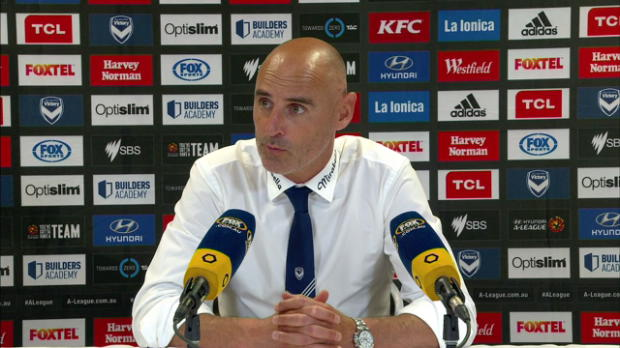 Melbourne Victory Rd19 press conference
