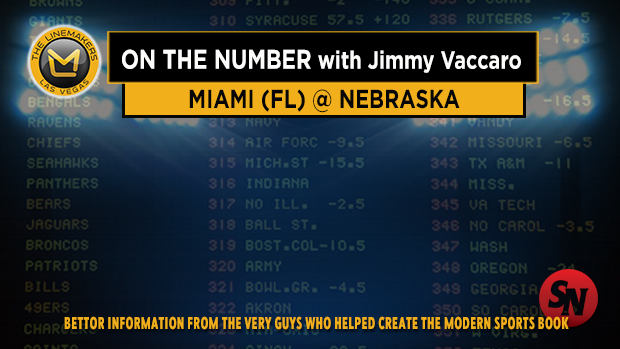 Jimmy V on Miami FL vs Nebraska