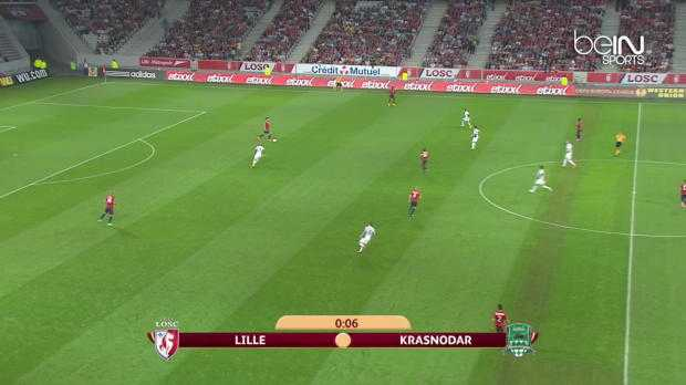L.Europa : Lille 1-1 Krasnodar