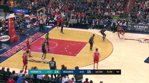 WSC: Kemba Walker (24 points) Highlights vs. Washington Wizards