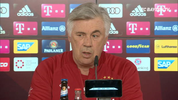 "Ancelotti zum DFB-Pokal: ""Wollen nach Berlin"""