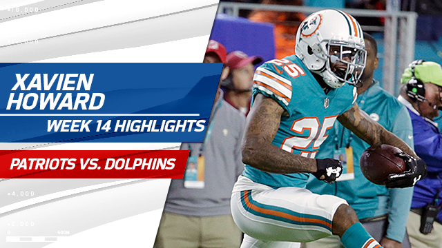 Highlights from Xavien Howard's stellar game | Week 14