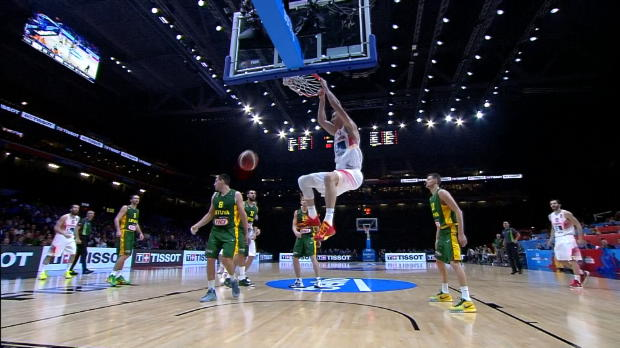 Spain v Lithuania - Best Dunk 3 - FIBA EuroBasket 2015