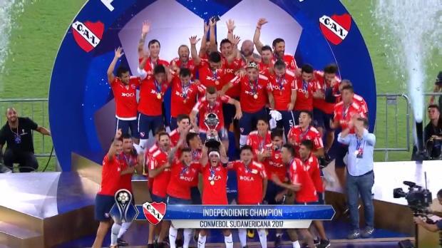 Copa Sudamericana: Independiente holt Titel