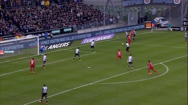Ligue 1 Round 25: Angers 0-3 Lyon