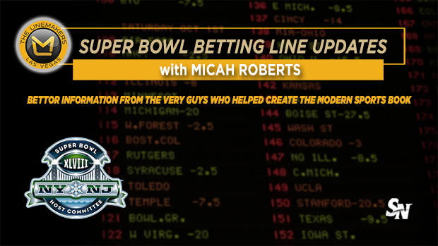 Super Bowl Betting Line Update