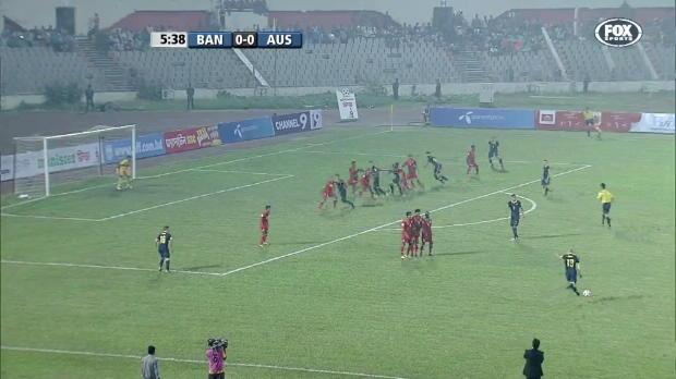 Socceroos outclass Bangladesh