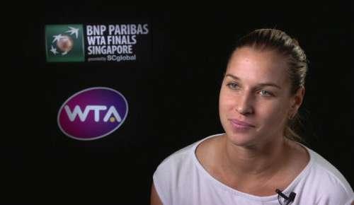 Cibulkova Interview: WTA Singapore SF