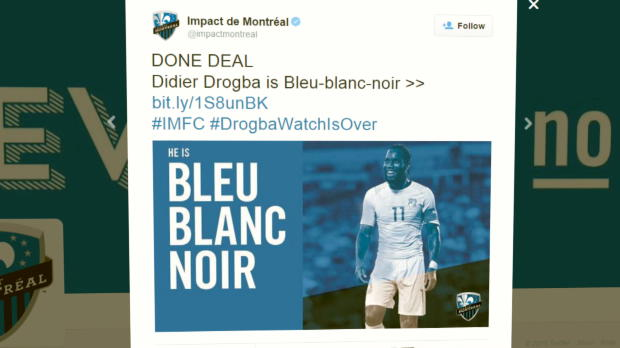 Nächster MLS-Coup: Drogba geht nach Montreal