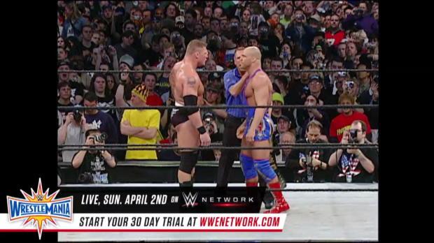 Kurt Angle vs. Brock Lesnar - WWE Title Match: WrestleMania XIX (Full Match - WWE Network Exclusive)