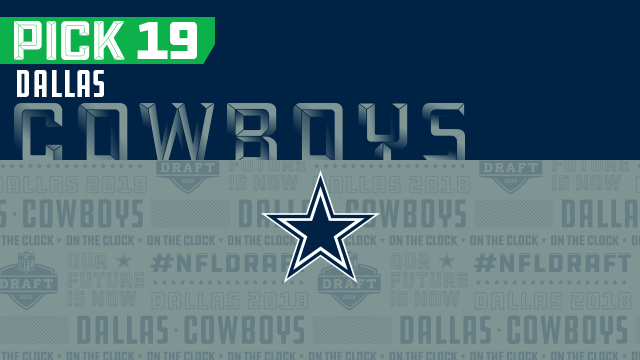 Dallas Cowboys pick No. 19 | NFL Mock Draft Live