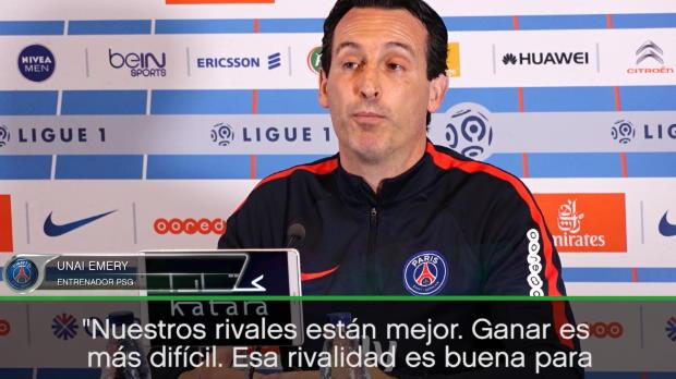 """Emery: """"El Mónaco es un gran rival"""""""