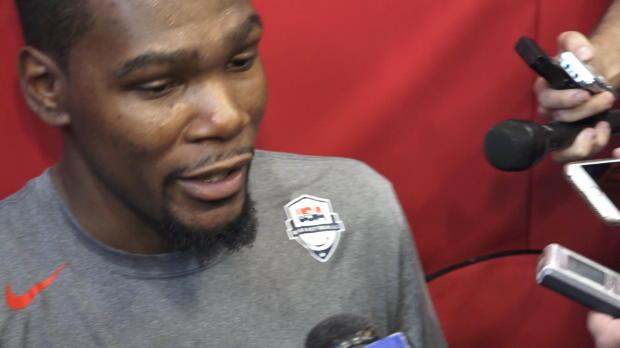 """Basket : NBA - Golden State - Durant - """"Je ne vais pas me mettre trop de pression"""""""