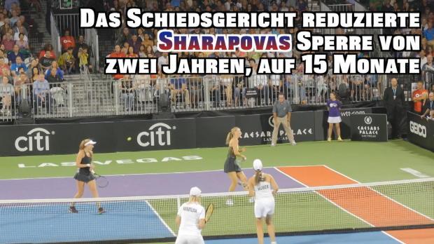 Trotz Sperre: Sharapova-Comback in Las Vegas