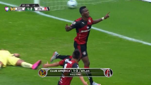 M�xico: Club Am�rica 1-3 Atlas
