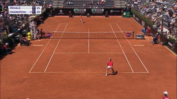 Rom: Sharapova mühelos gegen McHale