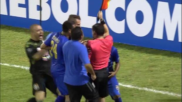 Copa Libertadores: Tumulte nach Abseitstor