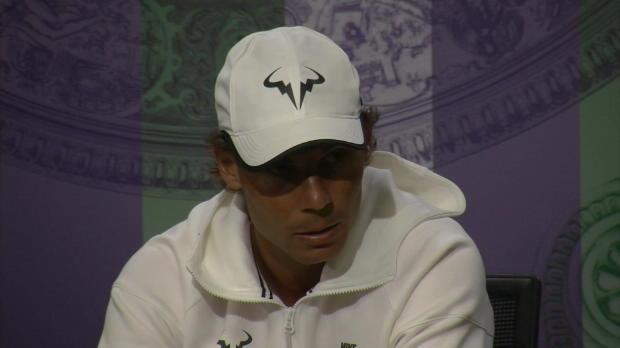 """Wimbledon: Nadal wünscht """"Williams das Beste"""""""