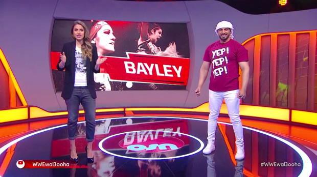 Nia Jax attacks Sasha Banks and Bayley on Raw: Wal3ooha, 15 February, 2018