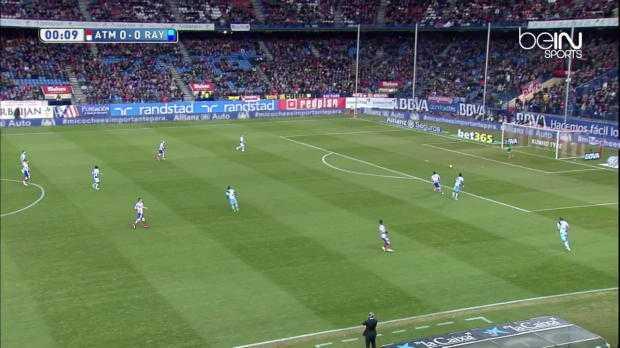 Liga : Atlético 3-1 Rayo Vallecano