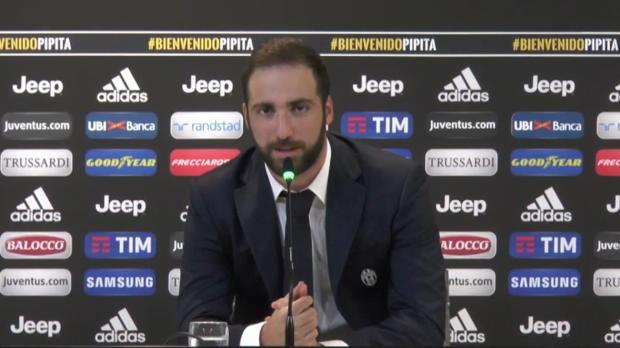 """Higuain: """"Del Piero war mein Lieblingsspieler"""""""