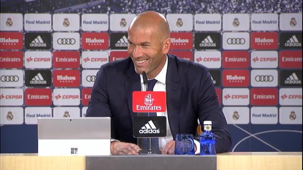 Zidane: James Rodriguez? So sieht's aus