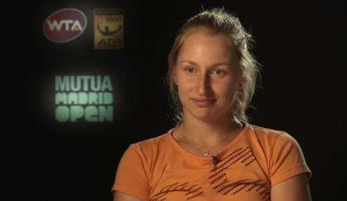Gavrilova Interview: WTA Madrid 3R