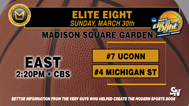 Elite Eight:  Connecticut vs. Michigan St