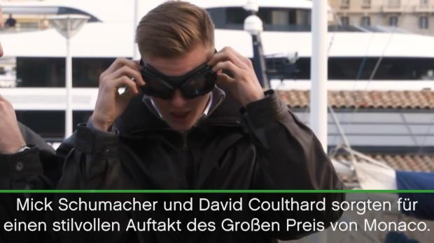 F1: Schumacher und Coulthard machen Oldie-Tour