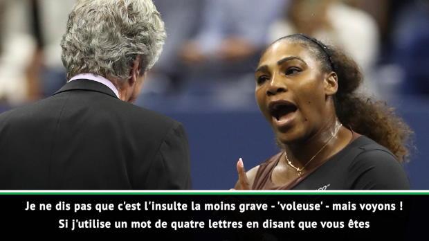 """Tennis : WTA - McEnroe - """"Serena aurait pu dire bien pire"""" lors de la finale de l'US Open"""