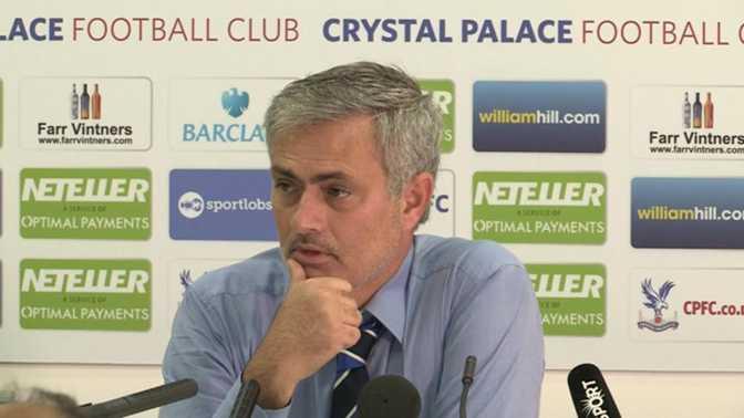 """Mourinho : """"Nous avons très bien joué"""""""