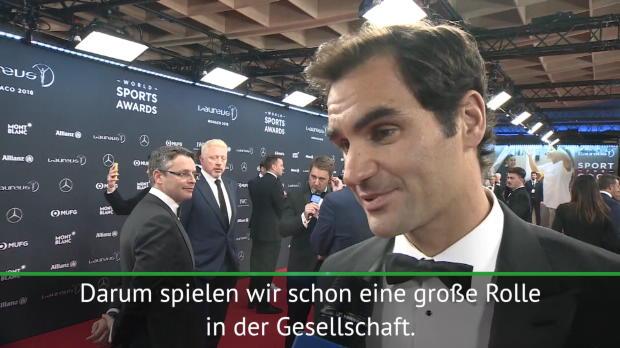 Laureus: Federer verrät: Becker war mein Idol