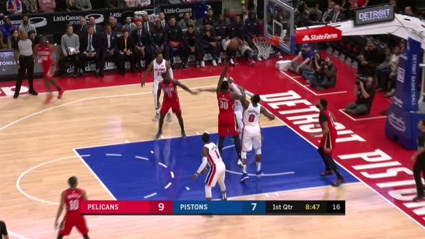 GAME RECAP: Pelicans 116, Pistons 108