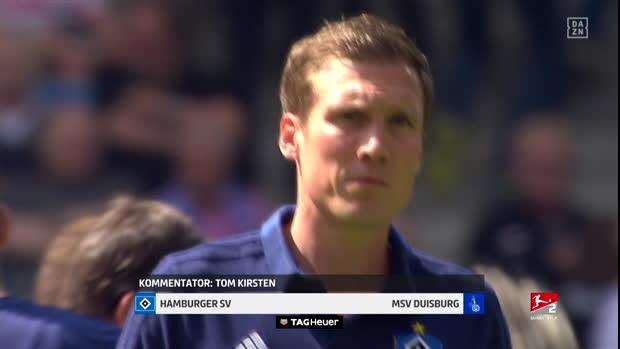 2. Bundesliga: Hamburger SV - MSV Duisburg   DAZN Highlights