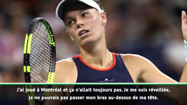 : Masters - Wozniacki malade, l'émouvante confession