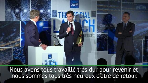 """Basket : ATP - Federer - """"Le prix du comeback de l'année est toujours spécial"""""""