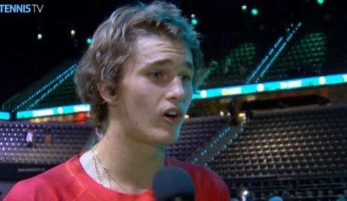 Zverev Interview: ATP Rotterdam 2R