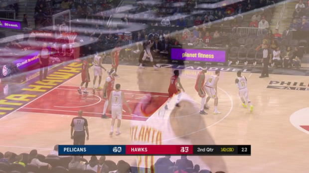 WSC: Dennis Schroder with 15 Assists vs. New Orleans Pelicans