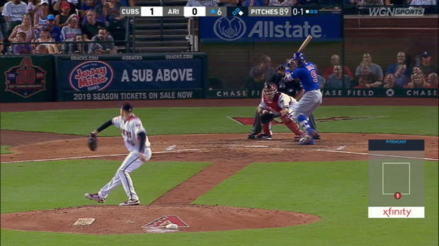 Baez celebrates his 32nd smash
