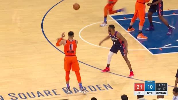 WSC: Dennis Schroder (17 points) Highlights vs. New York Knicks