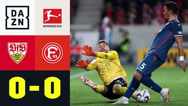 Bundesliga: VfB Stuttgart - Fortuna Düsseldorf | DAZN Highlights