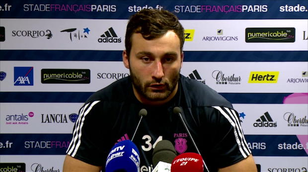 Top 14 - 9e j. : Sinzelle : ''Normal que le Racing soit remont�''