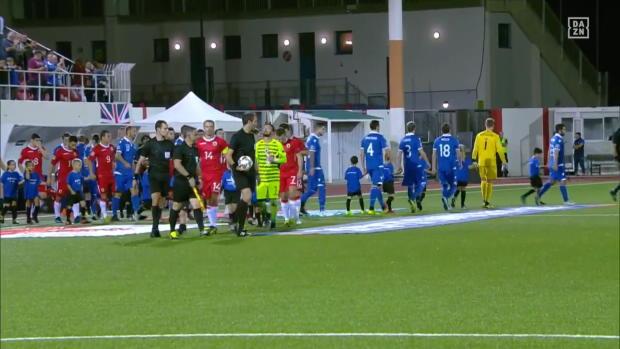 Fußball-Zwerg Gibraltar gewinnt auch gegen Liechtenstein | Highlights | UEFA Nations League